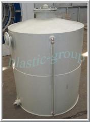 Tanks from the polypropylene and polyethylene leaf