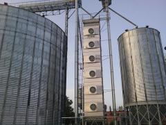 Зерносушилка стационарная проточная RIELA...