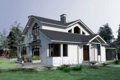 Projects of cottages standard