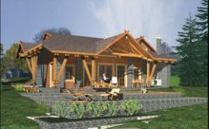 Standard projects of houses and cottages