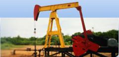 Protection of the working platform at the oil and