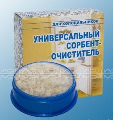 Sorbent cleaner universal for refrigerators