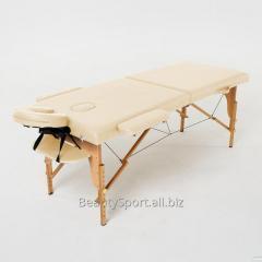 Folding table massage wooden PREMIERE