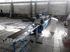 "Equipment for production of a metal siding ""A"