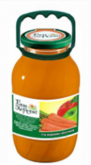 Juice Carrot and apple (1,85), sale wholesale from