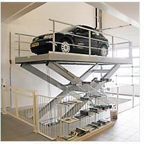 Автомобильные подъемные платформы Gutman