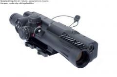 Снайперский прицел с системой управления огнем