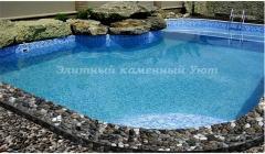 Плитка вокруг бассейнов