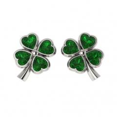 Sergi-pusety a good luck Clover from silver with