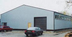 Логистические помещения, склады, ангары
