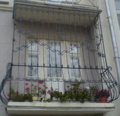 Ограждения балконов кованые. Работаем по Украине.