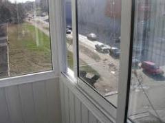 To order balcony frames, production of balcony
