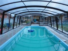 "Pavilions for pools of ""PRESTIGE"