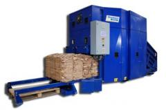 Automatic press of BaleTainer for waste paper,