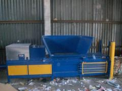 Horizontal press of MBT HPH 40 for waste paper,