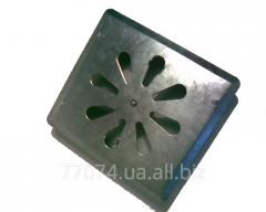 Adjustable ventilating grate galvanized