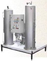 Saturation installation automatic UNA-6