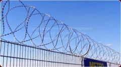 Спиральный барьер СББ Егоза