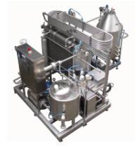 Пастеризаторы молока и сливок с электронным
