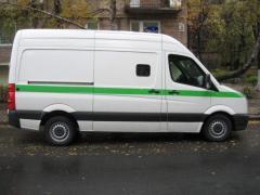 Car armor Mercedes-Benz Sprinter