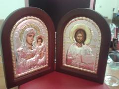 Skladen Virgin Erusalimskaya and Jesus Christ
