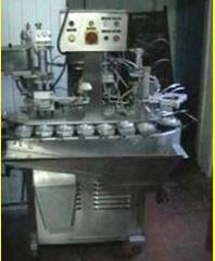 The industrial line for the ice-cream industry of