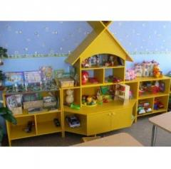 Show-window for toys