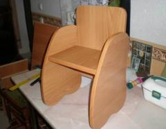 The chair is children's