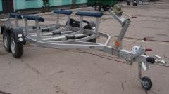 Корида для перевозки лодок двухосная КРД 050115