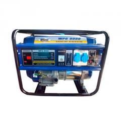 Бензогенератор WERK WPG8000 6,0/6,5 кВт.