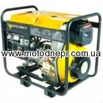 Diesel FORTE FGD6500E 5,0/5,5 generator of kW el.