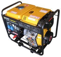 Дизельный сварочный генератор FORTE FGD6500EW 2,0/2,5 кВт