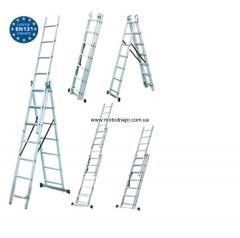 Універсальні сходи Werk LZ3212B (3x12)