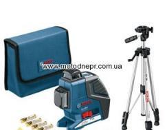 Линейный лазерный нивелир Bosch GLL 2-80 P Professional + Штатив BS 150