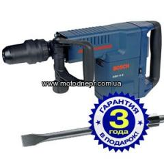 Jackhammer of Bosch GSH 11 E + chisel of