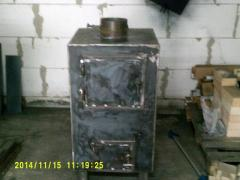 Copper without water contour (Potbelly stove)