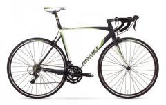Велосипед ROMET Huragan 2.0 белый-черный-зелёный