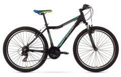 """Велосипед ROMET Rambler 26"""" JR чёрный-синий 17"""