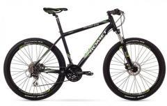 """Велосипед ROMET Rambler 27,5"""" 2.0 черный-зелёный 17"""