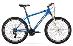 """Велосипед ROMET Rambler 27.5"""" 1.0 синий-зелёный 19"""