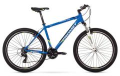"""Велосипед ROMET Rambler 27.5"""" 1.0 черный-зеленый-синий 17"""