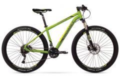 "Велосипед ROMET Rambler 29"" 3.0 зелёный-желтый 17"