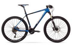 """Велосипед ROMET Monsun 27.5"""" 1.0 черный-синий 17"""