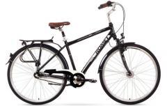 ROMET Art Noveau 3 bicycle black white 21