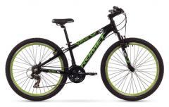 """Велосипед ROMET Rambler Dirt 26"""" чёрный-зелёный 14"""