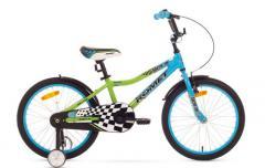 """Велосипед ROMET Salto 20"""" синий зелёный 12"""