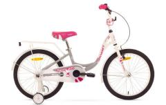 """Велосипед ROMET Diana 20"""" белый серый 12"""