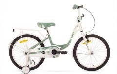 "ROMET Diana 20 bicycle"" white blue 12"