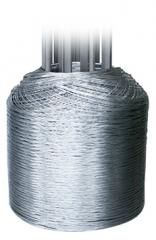 Wire IT thermally processed galvanized 0.8 - 5.0
