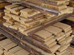 Board pine svezhespilenny
